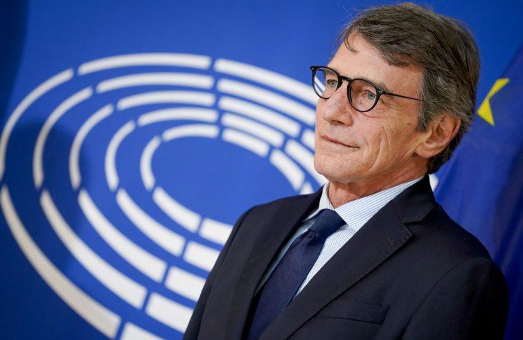 Audizione con il Presidente del Parlamento Europeo, David Sassoli