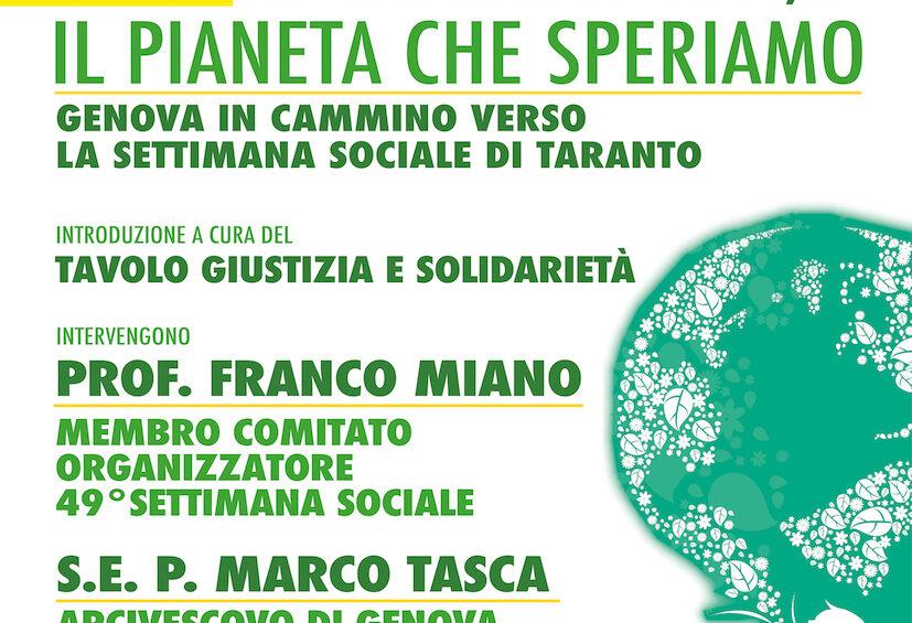 Il 23 aprile un webinar con l'arcivescovo Tasca e il prof. Miano