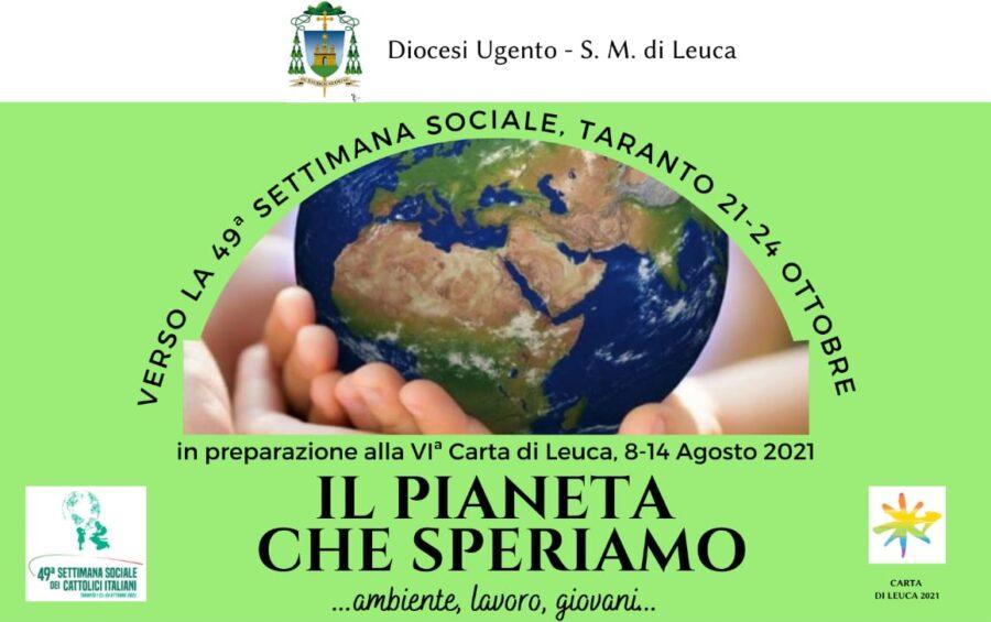 """""""Il pianeta che speriamo"""": incontro online il 19 maggio"""