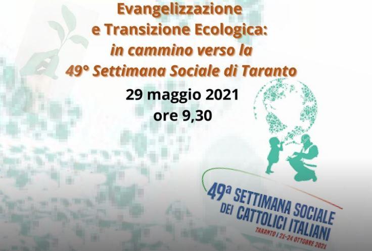 Verso Taranto: il 29 maggio evento in diretta streaming