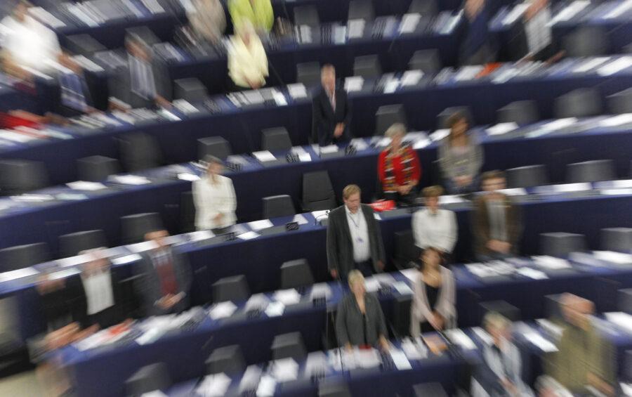 Strasburgo 12 Settembre 2011 - Parlamento europeo I deputati durante la sessione plenaria