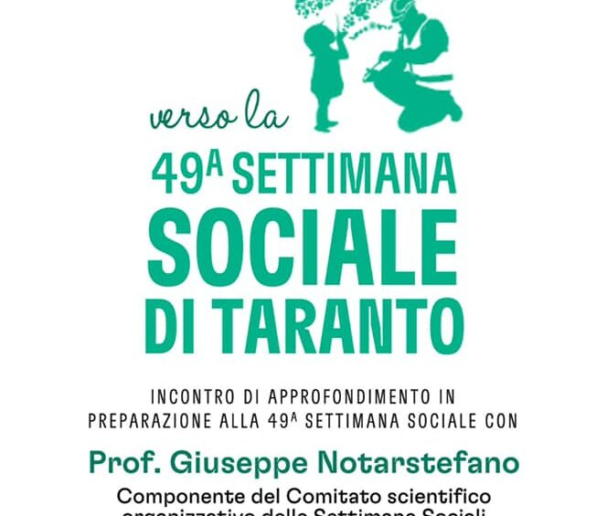 Napoli verso la 49ª Settimana Sociale