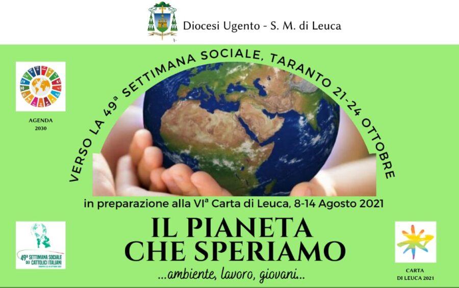 """""""Il pianeta che speriamo"""": il 24 giugno il 3° incontro online"""