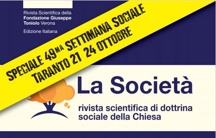 """Taranto2021: Un numero speciale de """"La Società"""""""
